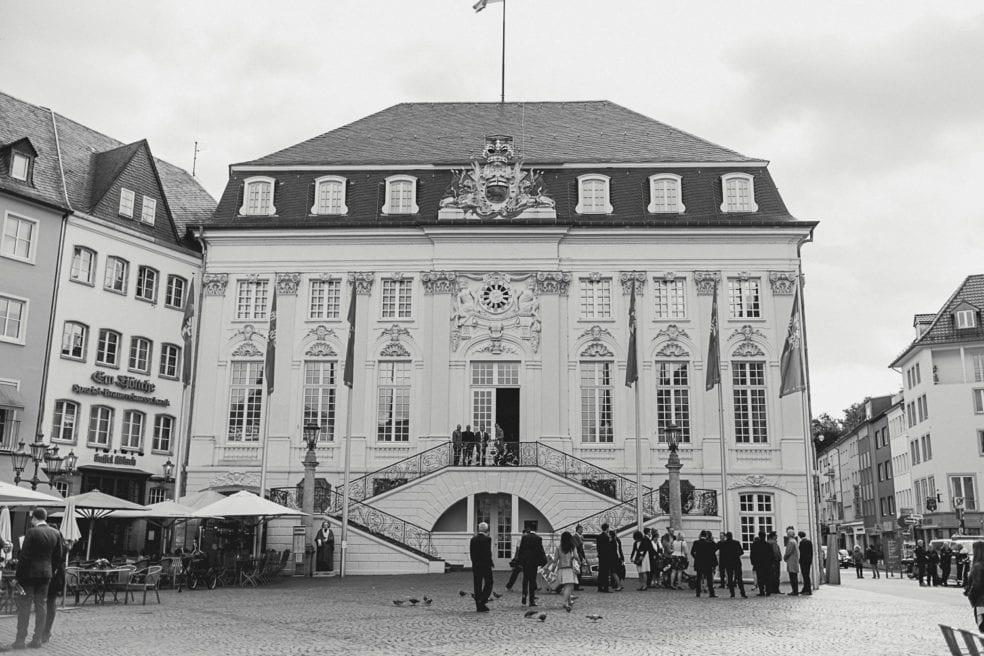 """Hochzeit im alten Rathaus in Bonn"""""""
